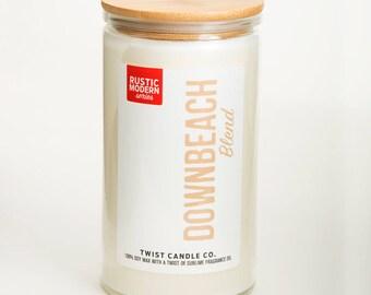 Downbeach Blend 18oz Soy Wax Candle
