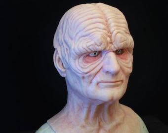 Darth Sidious - Inspired Palpatine Silicone Mask