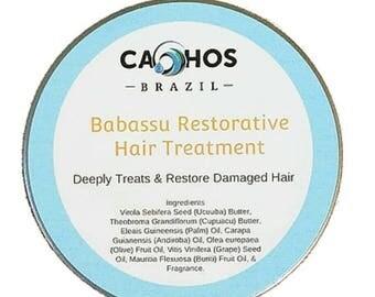 Babassu Damage  Restorative Treatment for All Hair Type 4 oz