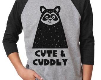Cute & Cuddly Raglan Shirt