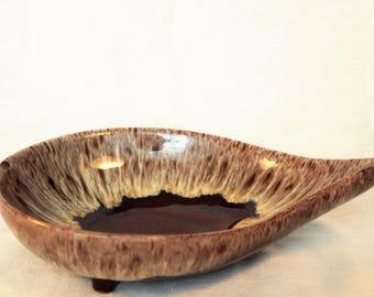 Vintage Evangeline Ware Leaf Dish