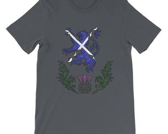 Scotland the Brave Rampant Lion Scottish Pride TShirt