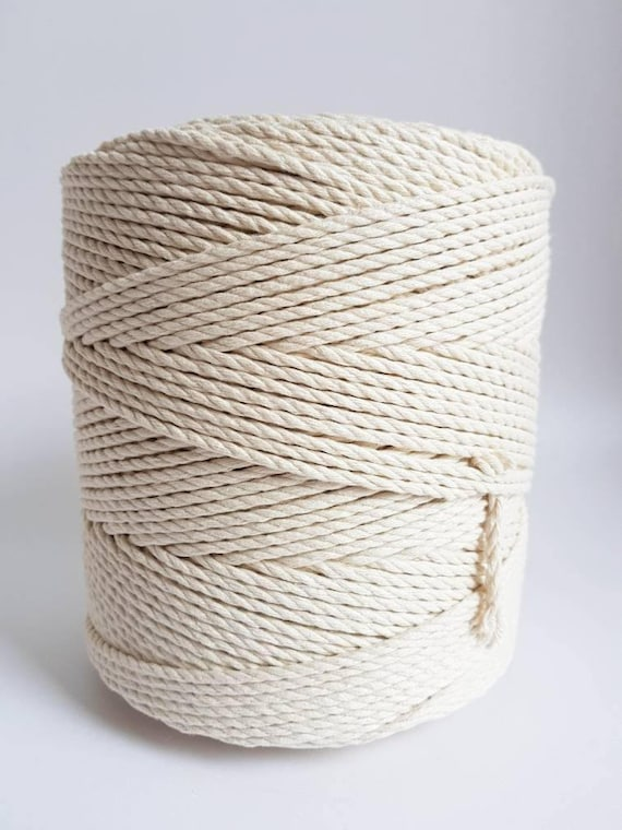 3 mm cotton rope 1 5 kg twisted cotton rope macrame rope macrame cord about 375 m cotton cord. Black Bedroom Furniture Sets. Home Design Ideas