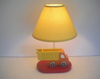 childu0027s truck lamp bedroom lamp