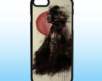 Darth Vader Art Star Wars Iphone Case, Iphone 5, 6, 7, 8, X