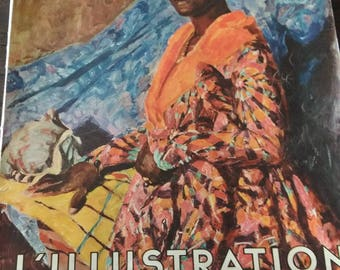 Magazine L'ILLUSTRATION tricentenaire French Antilles year 1935
