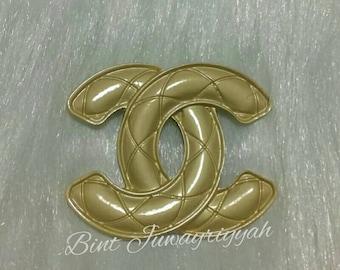 CC Vintage Brooch Pin