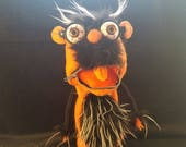 Hush Puppet Orange Black ...