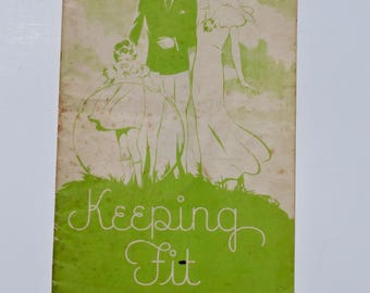 Keeping Fit,  Vintage Paperback, Personal Hygiene Guide, The Travelers Insurance Company,
