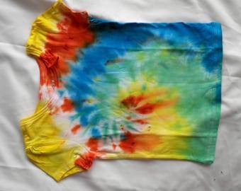 Children's Tie Dye T-Shirt.