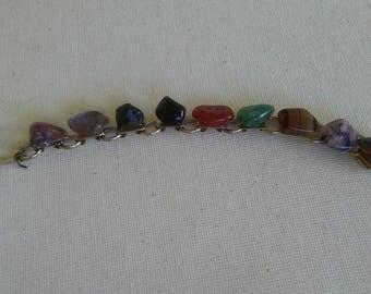 Vintage Multi Stone Bracelet