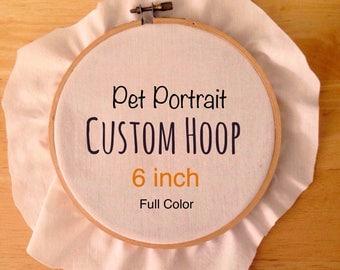 Full Color Custom Pet Portrait