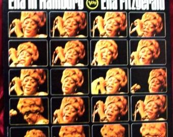 "Ella in Hamburg vinyl 33 1/3 12"" recorded in 1965"