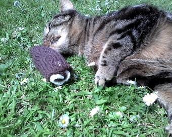 WLF Catnip Chocolate Swiss Roll Toy