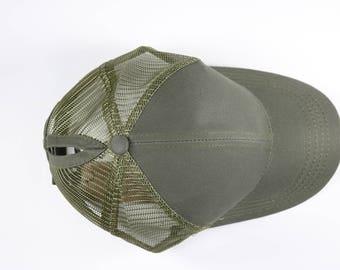 CC Olive Ponytail Cap - Pony Tail Hat