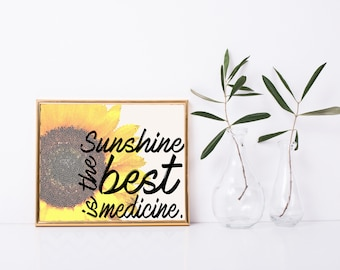 Sunshine Printable Quote