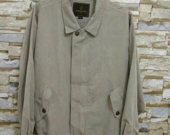 MEGA SALE 90's Gianni Valentino Italy Jacket Vintage Gianni Embroidered Logo Large