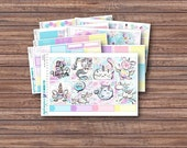 My Pet Unicorn Weekly Kit | Spring Planner Stickers | ECLP | Happy Planner | Recollections Planner | Weekly Planner Stickers