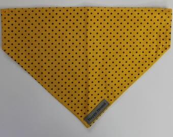 Dotty Dog Bandana - Yellow