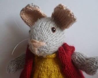 crochet amigurumi mouse mouse Mousie Mouse