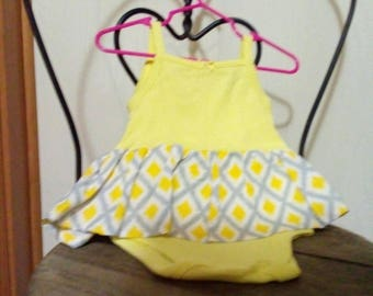 Tank style onsie. Size 6-9 mo