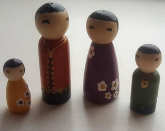 Japanese peg family