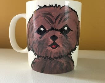 I love my shih tzu coffee mug