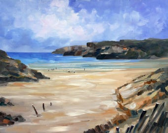 Art pictures, sea and beach, Brittany, landscape pictures, sea pictures, murals
