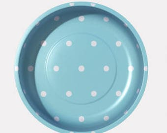 Magnetic Pin Bowl (Blue Dot) - Pleasant Home for Riley Blake
