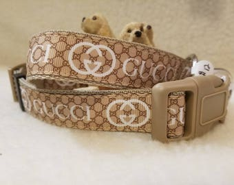 Fashion Handmade Dog Collar 1 Inch Wide Large & Medium