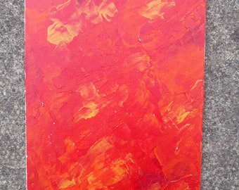abstract colour painting