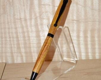 Canary Wood Twist Pen