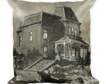 House of a Madman Square Pillow