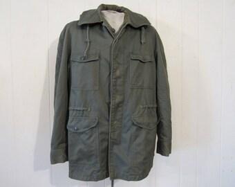 Vintage jacket, military jacket, 1950s jacket, USAF jacket, vintage clothing, Army jacket, medium