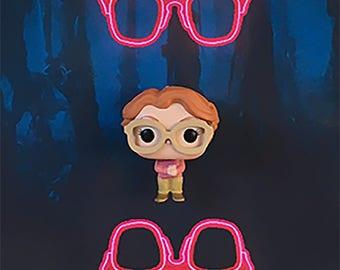 Stranger Things Inspired Barb 3-D Effect Framed Wall Art