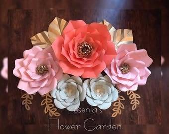 Custom Colors Paper flowers