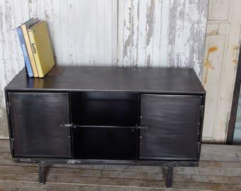 Tv cabinet Industrial raw steel