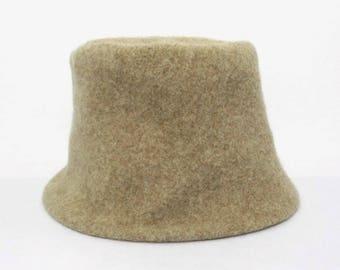 Kenzo Hat VINTAGE Kenzo Beige Bucket Hats Size M