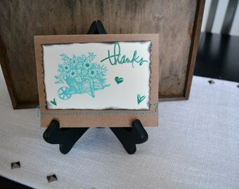 Thank You cards, Blank Thank You Card, All Occasion Thank You card, Handmade cards, Greeting cards