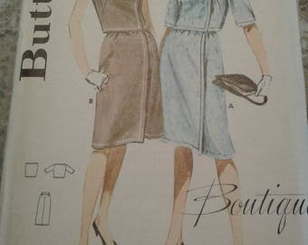 Vintage Butterick Pattern - 2764 - Size 12 - Bust 32 (Circa 1960's)