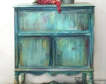 Bar/Storage Cabinet/Liquor cabinet/ornate/storage/Buffet/Sideboard/Shabby Chic/Vintage Cabinet/Cupboard