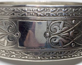 SALE: 1938 Sterling Silver bracelet by Clewley & Co Birmingham UK