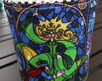 Disney Inspired Beauty and the Beast Coffee Cozy, Beautiful Enchantress Coffee Cozy