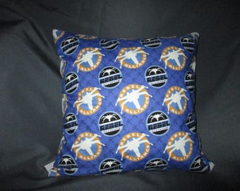 Glow in the Dark Star Wars Rebel Alliance or Darth Vader 16x16 Decorative Throw Pillow (with Insert)