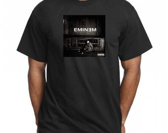 Eminem The Marshall Mathers LP COVER 2 T Shirt Hip Hop Shirt Tee Rap Merch Vintage Style Rappers Shady Records Detroit Revival Stan Rap God