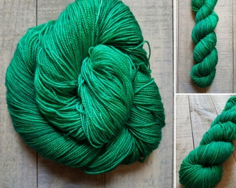 Parseltongue   Dyed to Order   Harry Potter Inspired Hand-Dyed Yarn