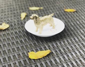 Labrador Ring Holder, Animal Jewelry Holder, Catch All, Dog Jewelry Dish, Home Decor