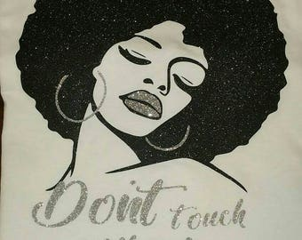 Afro-Don't Touch My Hair