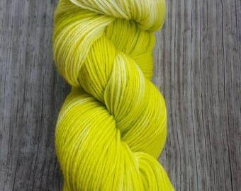 "Hand-Dyed Superwash Wool/Nylon Sock Yarn - ""Myrtle Beach"""