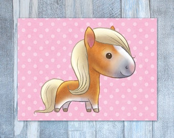 Little Pony Card